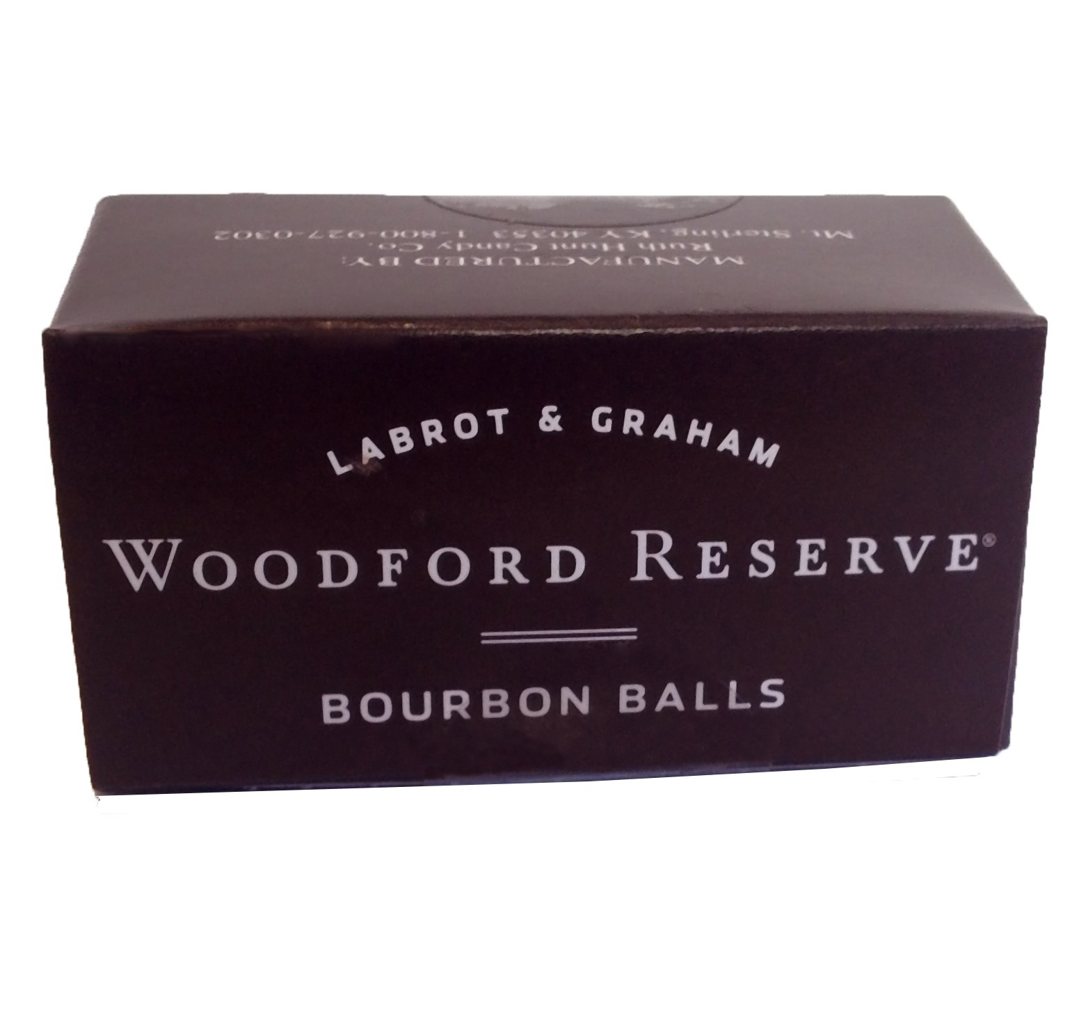 Case of 12 Woodford Reserve Bourbon Balls 2 pc Gift Boxes (24 candies)