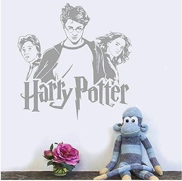 Etiqueta de la pared Hermione Granger Ron Weasley Etiqueta de ...