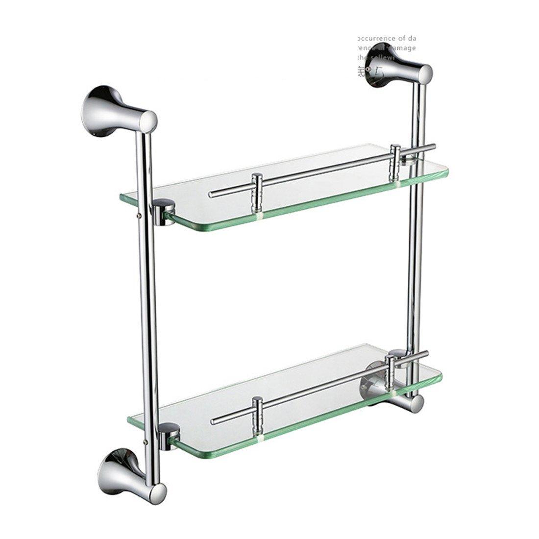 LAONA European contemporary copper chrome bathroom accessories set round base rack hook,Rack 2