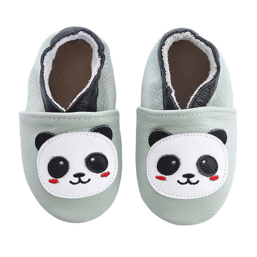 buy popular 5072b 0141a koshine Weiches Leder Krabbelschuhe Baby Schuhe Kinder ...