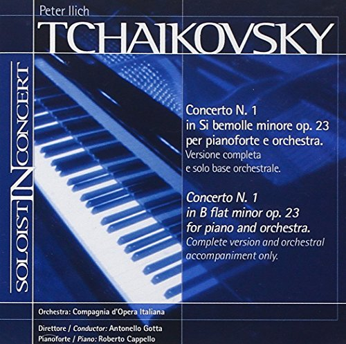 (Music Minus One Piano:Tchaikovsky Piano Concerto No.1 in B flat, op.23(Soloist-In-Concert Series))