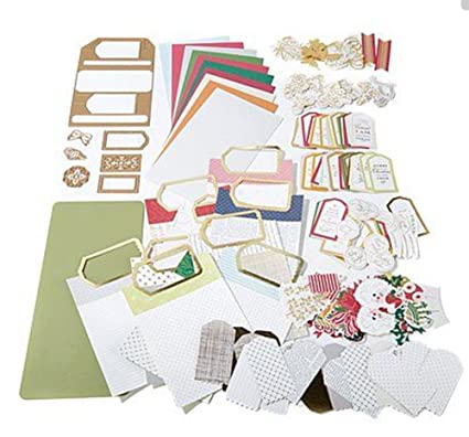 Anna Griffin Festive Flips Card Making Kit U0026 Cutting Dies For Halloween, Christmas  Cards U0026