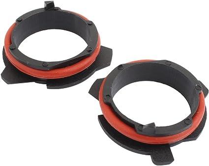 TOMALL H7 LED Linterna bombilla Adaptador Retenedores: Amazon.es ...