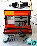 SKEMIDEX---Electric 1'' inch Rebar bending Bender Foot Switch #8 Foot pedal included And light construction equipment list what is light equipment construction equipment names and pictures light