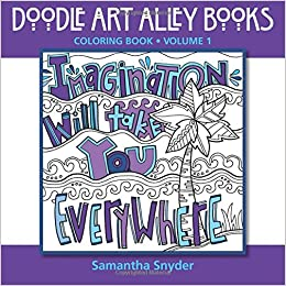 Imagination Will Take You Everywhere: Coloring Book (Doodle Art ...