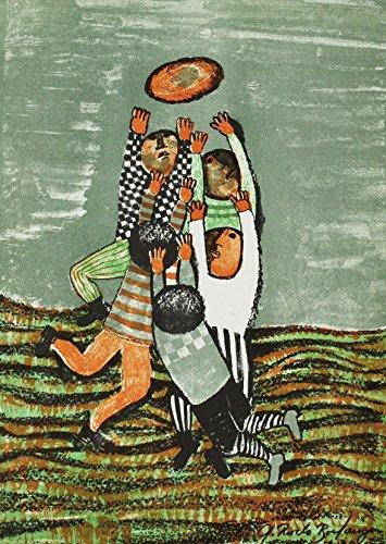 Artebonito - Graciela Rodo Boulanger Original Lithograph 1, Signed on Plate ()