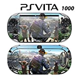 Skin Decal Cover Sticker for Sony PlayStation PS Vita (PCH-1000) - Watch Dogs