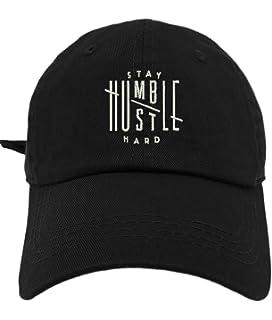 3e358b946e6 TheMonsta Humble Stay Hard Logo Style Dad Hat Washed Cotton Polo Baseball  Cap