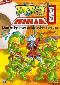 Tortues ninja ma tre splinter et les cyber - Maitre rat tortue ninja ...