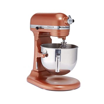 kitchenaid hd stand mixer copper pearl