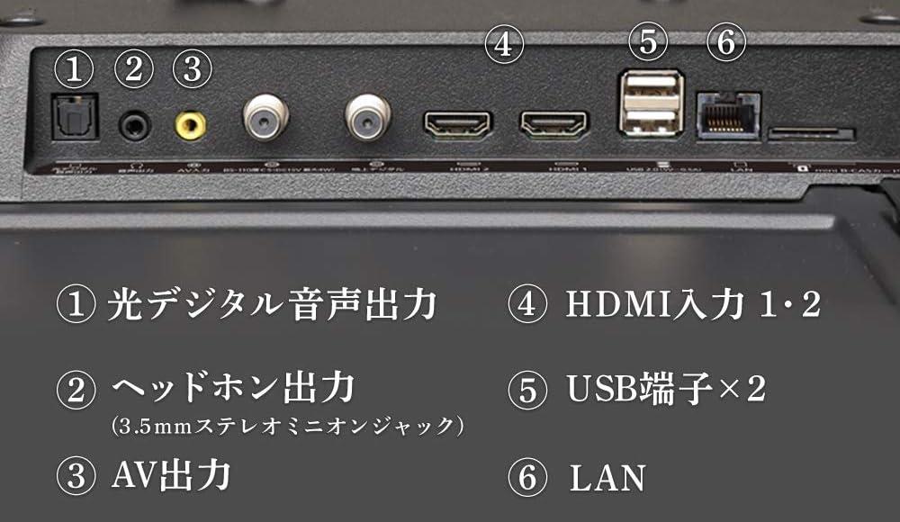 HDMI入力端子