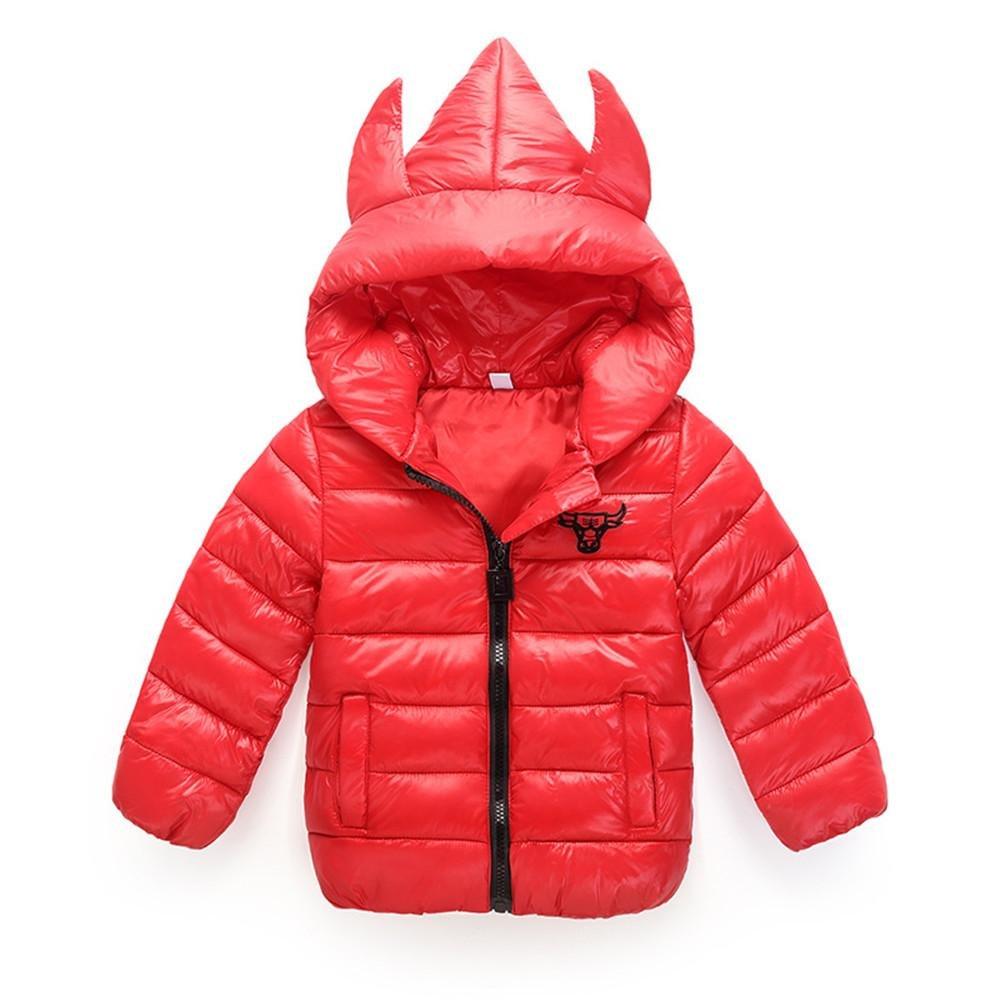 Chuangyi Nuevo otoño e Invierno pequeño Cuerno del Monstruo niño ...