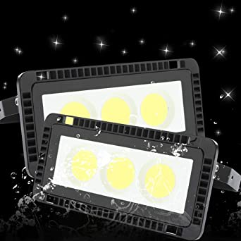Pack 2x 50W Foco LED Exterior 6500K Blanco frío LED Foco ...