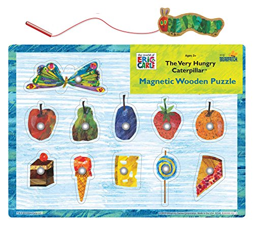 The Very Hungry Caterpillar Magnetic Wood Puzzle Jigsaw