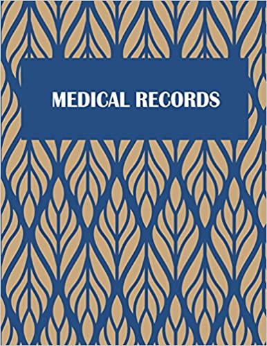 "Medical Records: Daily Medicine Record Tracker 120 Pages Large Print 8.5"" X 11"" Health Medicine Reminder Log, Treatment History Descargar PDF Gratis"