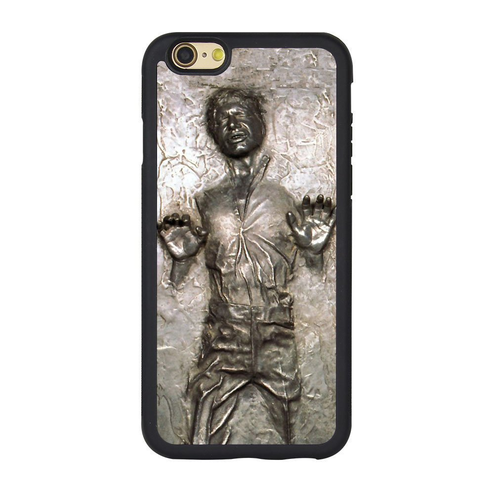 factory authentic aa9a9 af203 Deal Market LLCCasesTM Han Solo Carbonite (Flat Back Not 3D) iPhone 7 Plus  Case -Ships from Florida and Guranteed delivery within 7 Plus Business days