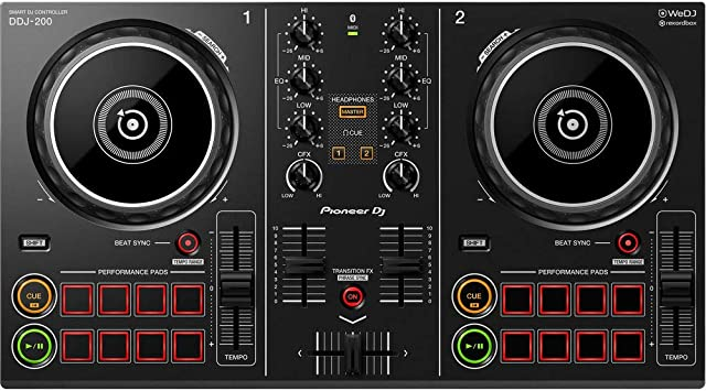 Amazon.com: Pioneer DJ Smart DJ Controlador (DDJ-200 ...
