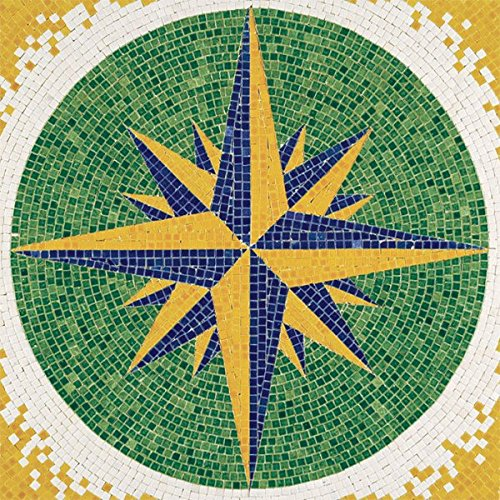 (Compass Rose Mosaic Kit)