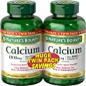 2-Pack Nature's Bounty Absorbable Calcium 1200mg + Vitamin D3 Softgels