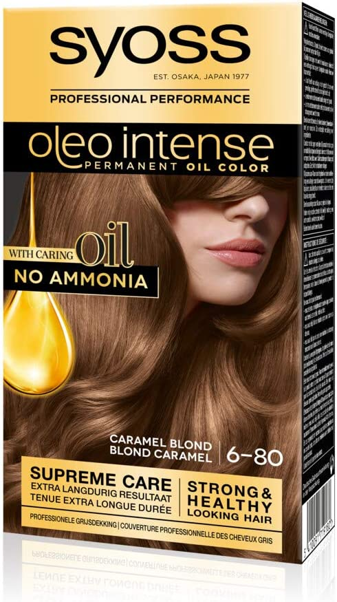 Syoss Color Oleo Intense 6-80 - Tinte para cabello rubio ...