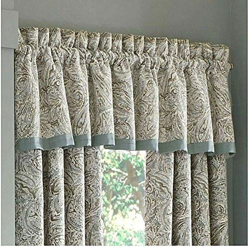 J. Queen New York Giovani Window Valance in Spa