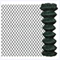 "K&A Company Chain Fence 4' 1"" x 49' 2"" Green"