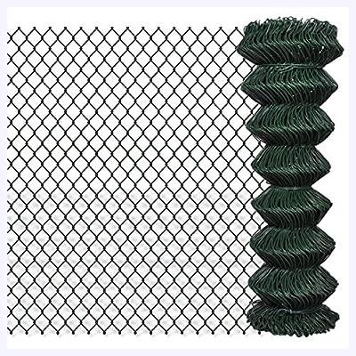 "K&A Company Chain Fence 4' 1"" x 49' 2"" Green"