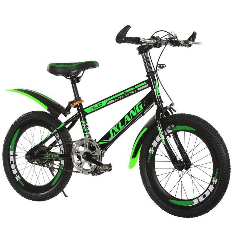 子供用自転車、1820インチの学生用マウンテンバイク615歳のサイクリング少年少女 ( 色 : Green-A , サイズ さいず : 18 inches ) B07CNBGQZ2 18 inches|Green-A Green-A 18 inches