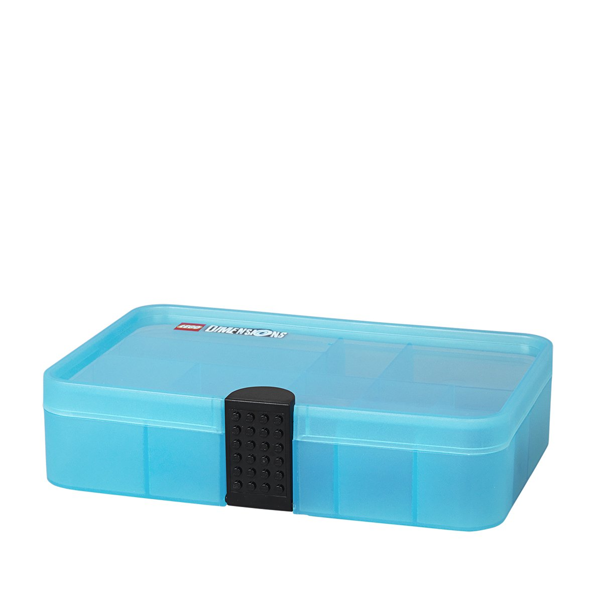 LEGO Dimensions Gaming Capsule/Sorting Box/Storage Case/Container with Compartments, Transparent Blue Room Copenhagen L4080BL