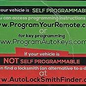 Amazon.com: 1999 – 2014 Ford Mustang compatible con llave ...