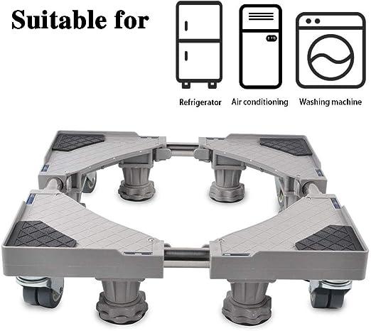 Smonter Multi-fonctionnel Mobile Réglable Base avec 4×2 de verrouillage en caoutchouc...