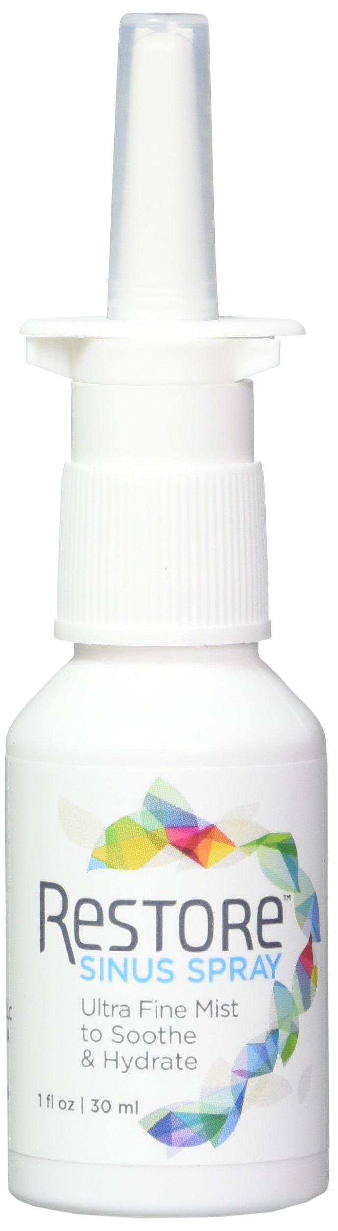 RESTORE Sinus Spray | Restore 4 Life Ultra Fine Mist to Soothe & Hydrate |