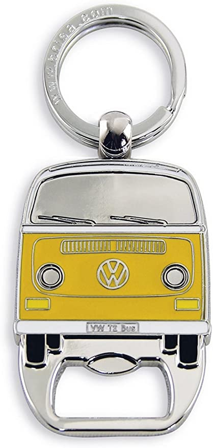 Official VW Collection Campervan Key Ring with Gift Tin Orange