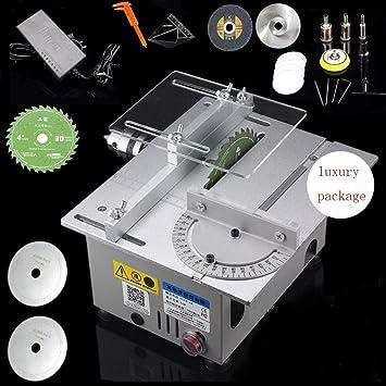 Sierra de mesa circular/carpintería modelo DIY máquina de corte ...