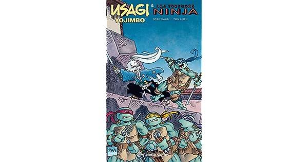 Amazon.com: Usagi Yojimbo y las Tortugas Ninja ...