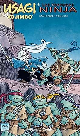 Amazon.com: Usagi Yojimbo y las Tortugas Ninja (Spanish ...