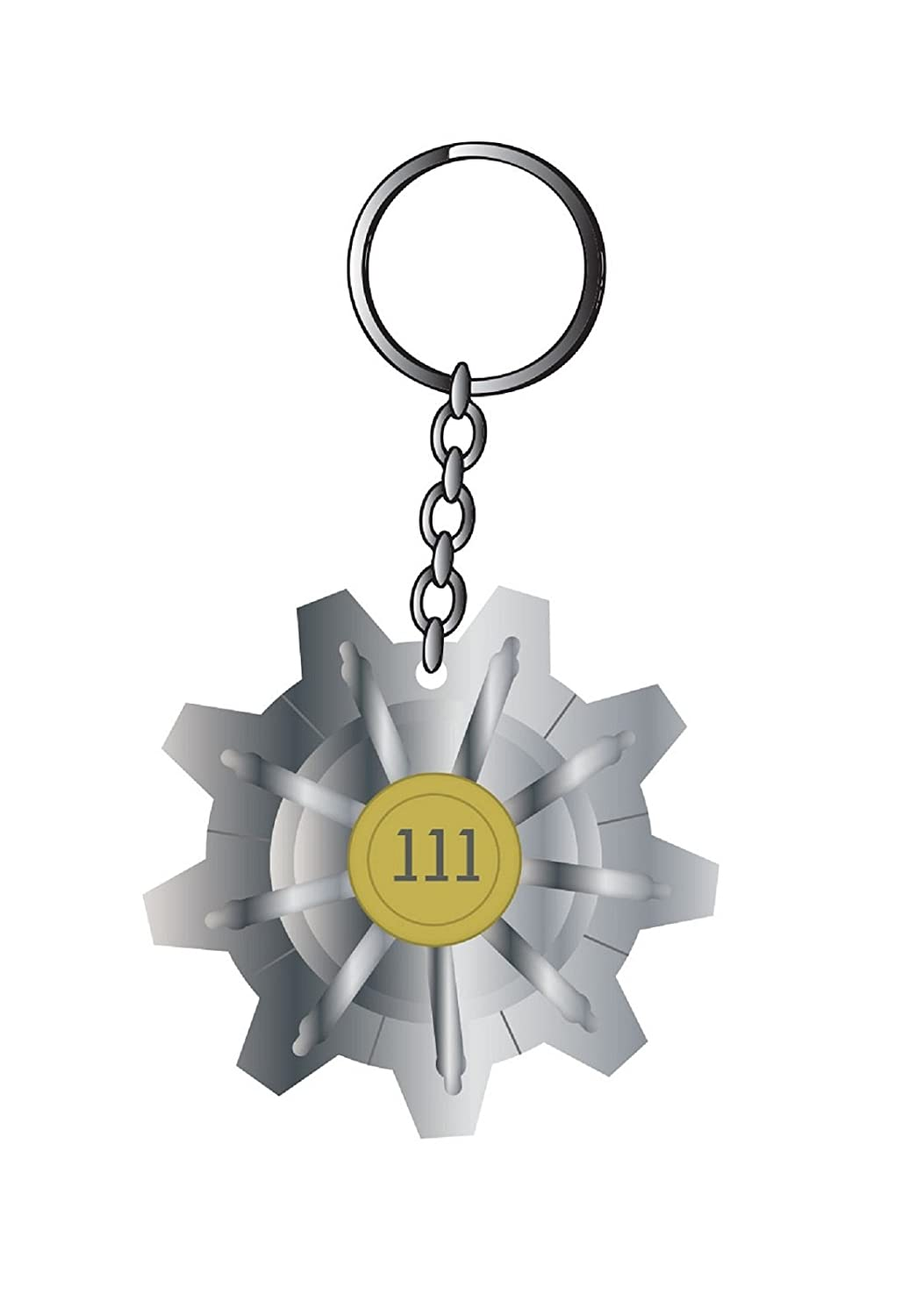 Fallout 4 Vault 111 PS4 Xbox oficial nuevo metal Keychain ...