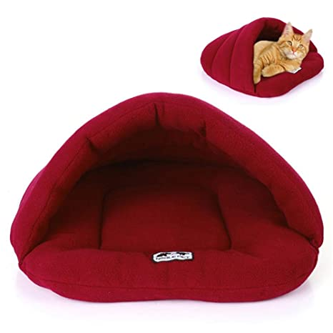 Macrorun Nido de Mascotas Nido de Zapatillas de Perro Saco de Dormir para Mascotas Criadero de