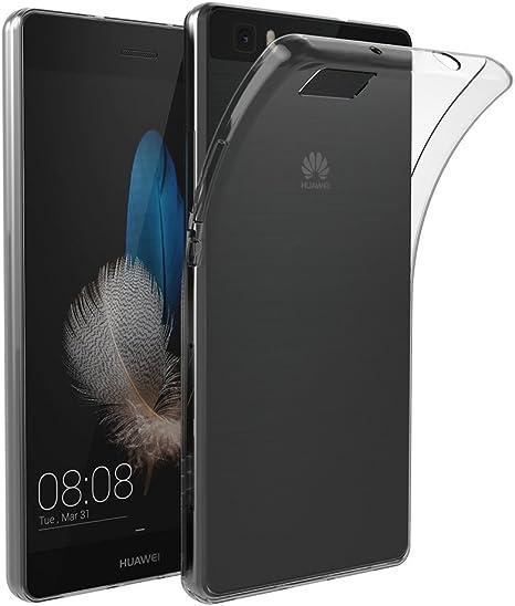 AICEK Coque Huawei P8 Lite, Etui Silicone Gel Huawei P8 Lite Housse Antichoc P8 Lite Transparente Souple Coque de Protection pour Huawei P8 Lite(5.0 ...