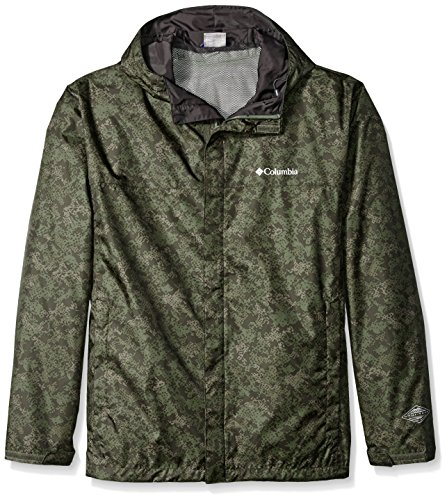 Columbia Men's Big & Tall Watertight Printed Jacket, Commando Digital Camo, 1X