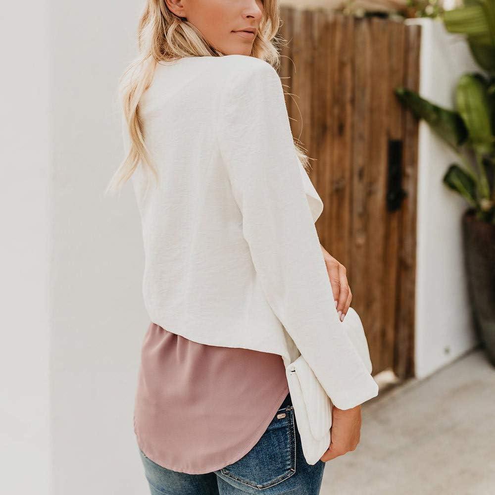 /♥ETHELDING/♥ Women Linen Coat Blazer Open Front Short Cardigan Suit Jacket Work Office Formal Coat