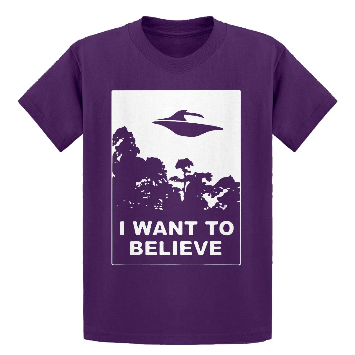 Indica Plateau Youth I Want to Believe Kids T-Shirt