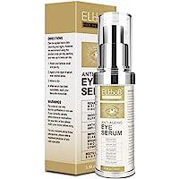 Anti Ageing Eye Serum - Eye Cream - Anti Wrinkle Eye Serum for Puffy Eyes, Dark Circles, Eye Bags, Crows Feet, Wrinkles…