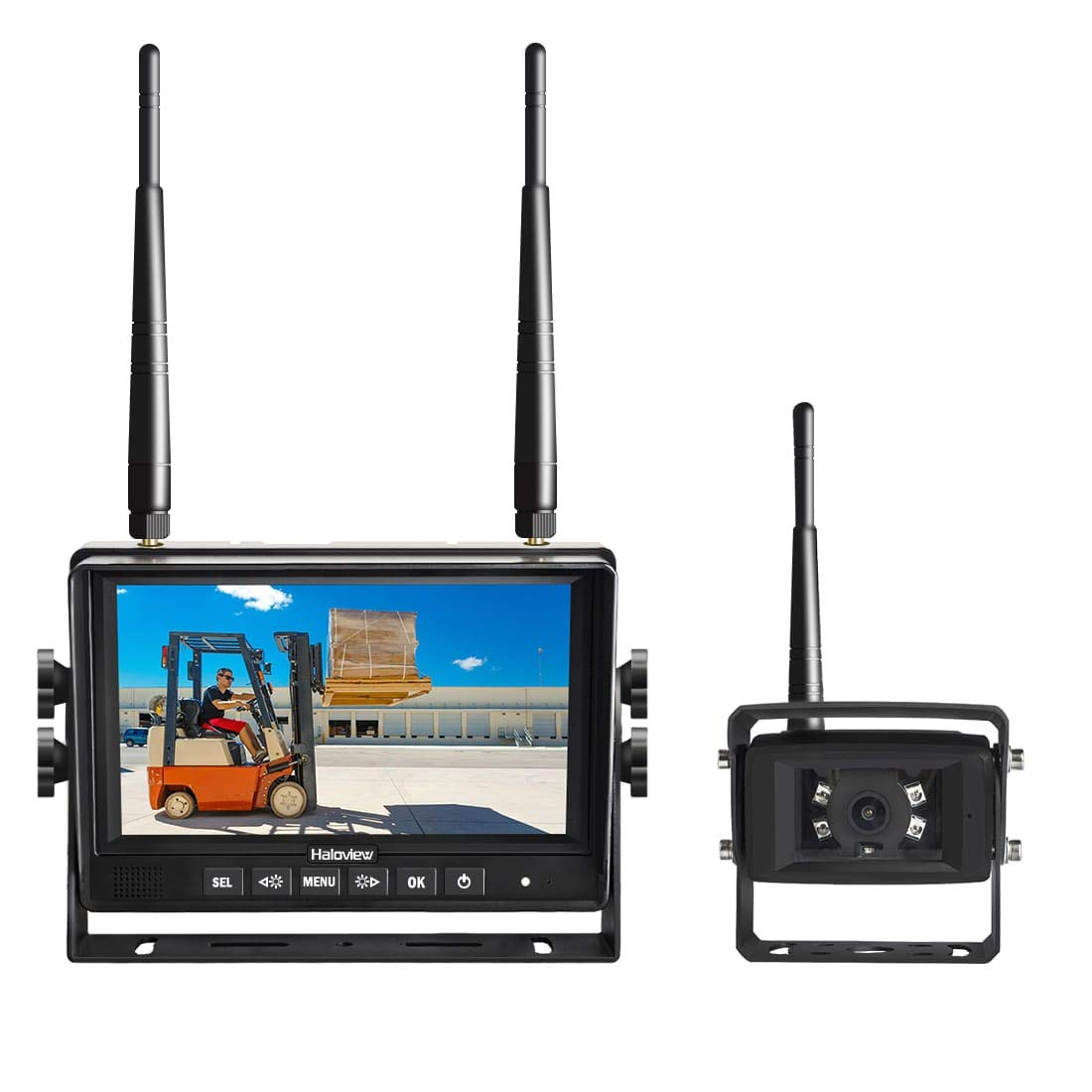 Haloview CA101 Wireless Backup Camera Waterproof IP69K
