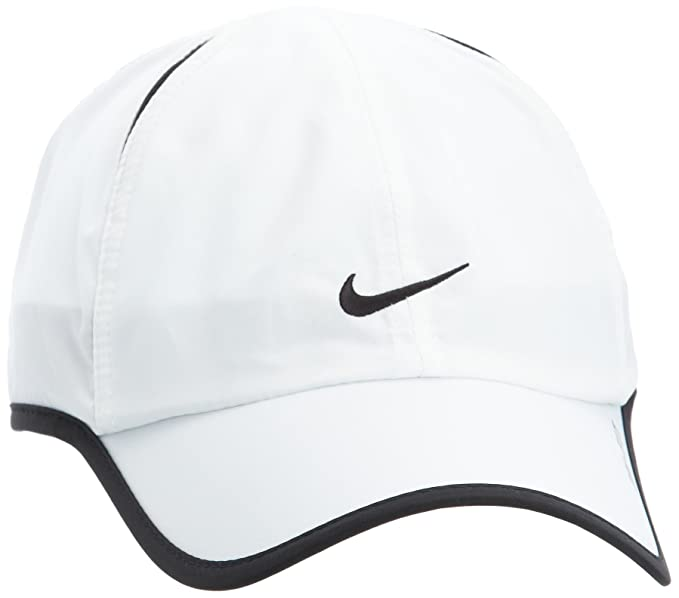 Amazon.com : Nike Feather Light Cap - One - White : Baseball Caps : Clothing