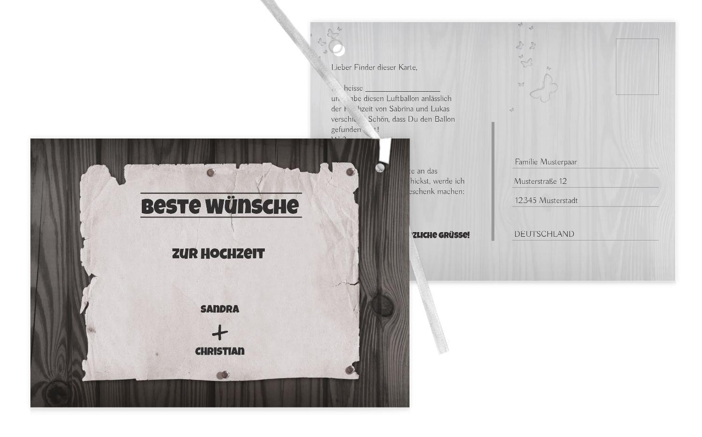 Ballonkarte Steckbrief, 100 Karten, braunmatsch B07CQBJ8N3 | Outlet Online  | Düsseldorf Eröffnung  | Gewinnen Sie hoch geschätzt