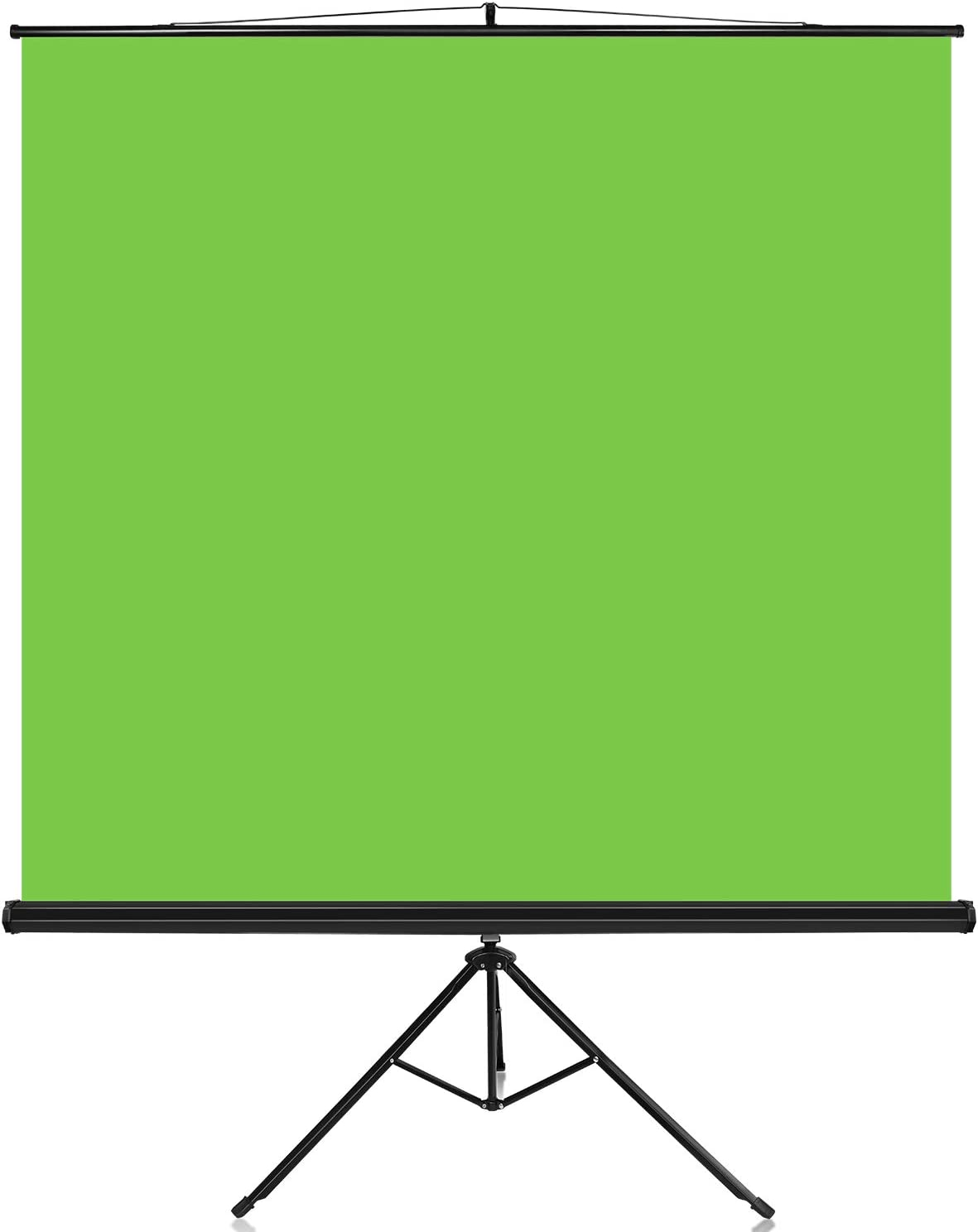 Yesker Green Screen Photo Video Studio Backdrop Mounts On Tripod Portable Anti-wrinkle Collapsible Chroma Key Panel Background with Aluminum Alloy Stand Quick Assembly for Video Studio Shoot Game Live