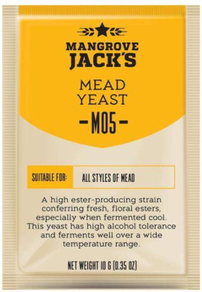 Mangrove Jack's Craft Series Mead Yeast M05 (10g) by Mangrove Jack
