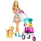 Barbie 芭比 女孩芭比娃娃玩具 新宠物集合组套装 CNB21