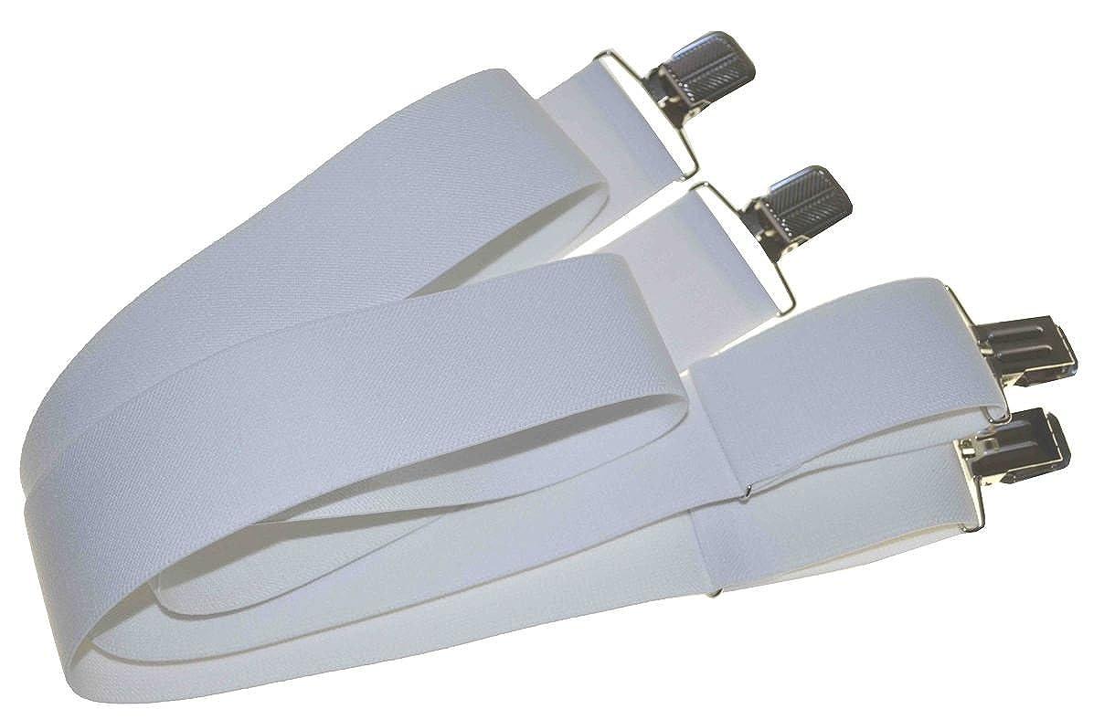 PKO Men's Suspender 2 Wide (White)